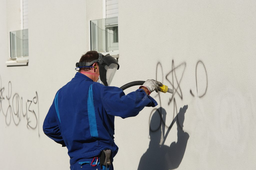 Win The Battle Against Graffiti With Commercial Pressure Washing